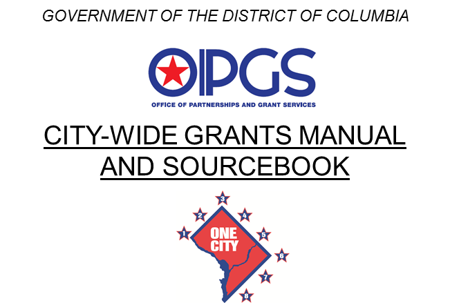Grants Manual and Sourcebook