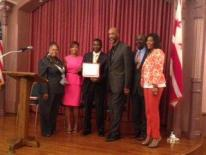 DCHR's District Leadership Program Closing Ceremony at the Charles Sumner School Museum and Archives on August 16th